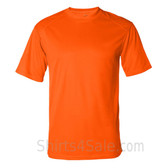Orange T-Shirt with Sport Shoulders
