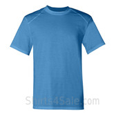 Columbia Blue Short Sleeve Performance tee shirt for men