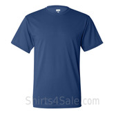 Dark Blue Performance t shirt for men