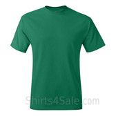 Green Neck tag-free men's t shirt