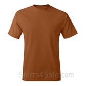 Tan Neck tag-free men's t shirt