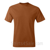 Tan Neck tag-free men's t shirt