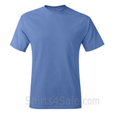 Carolina Blue Neck tag-free men's t shirt