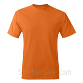 Orange Neck tag-free men's t shirt