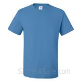 Columbia Blue Heavyweight durable fabric men's tshirt