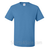 Columbia Blue Heavyweight durable fabric men's tshirt