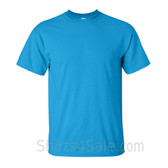 Sky Blue Cotton mens t shirt