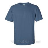 Indigo Blue Cotton mens t shirt