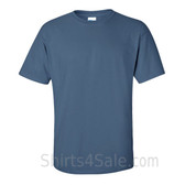 Indigo Blue Cotton mens t shirt