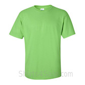 Lime Green Cotton mens t shirt