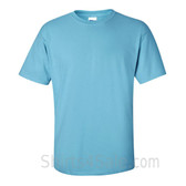Light Sky Blue Cotton mens t shirt