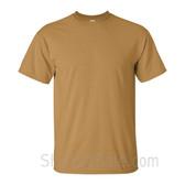 Gold Cotton mens t shirt