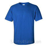 Blue Cotton mens t shirt