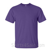 Purple Cotton mens t shirt