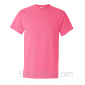 Neon Pink Cotton mens t shirt