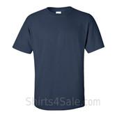 Navy Cotton mens t shirt