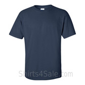 Navy Cotton mens t shirt