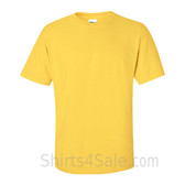 Yellow(Daisy) Cotton mens t shirt