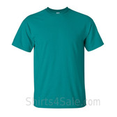 Teal Cotton mens t shirt