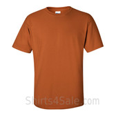 Tan Cotton mens t shirt