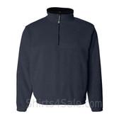 Men's Navy Classic Fleece with Half Zip