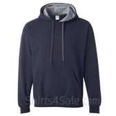 Gray, Navy 2color Hoodie Sweatshirt