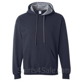 Gray, Navy 2color Hoodie Sweatshirt