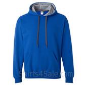 Gray, Blue 2color Hoodie Sweatshirt
