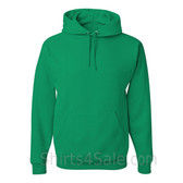 Jerzees NuBlend 50/50 Pullover Hood with Front Pocket - Green