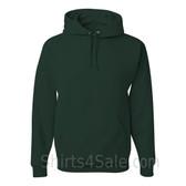 Jerzees NuBlend 50/50 Pullover Hood with Front Pocket - Dark Green