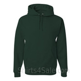 Jerzees NuBlend 50/50 Pullover Hood with Front Pocket - Dark Green