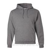 Jerzees NuBlend 50/50 Pullover Hood with Front Pocket - Grey