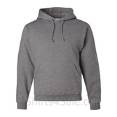 Jerzees NuBlend 50/50 Pullover Hood with Front Pocket - Grey