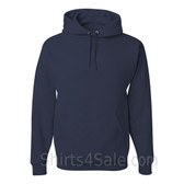 Jerzees NuBlend 50/50 Pullover Hood with Front Pocket - Navy