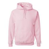 Jerzees NuBlend 50/50 Pullover Hood with Front Pocket - Light Pink