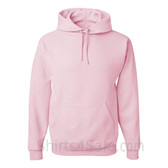 Jerzees NuBlend 50/50 Pullover Hood with Front Pocket - Light Pink