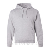 Jerzees NuBlend 50/50 Pullover Hood with Front Pocket - Light Grey