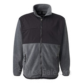 Charcoal Black Weatherproof Therma Fleece Full-Zip Jacket