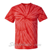 Red Cyclone Pinwheel Short Sleeve T-Shirt