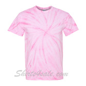 Pink Cyclone Pinwheel Short Sleeve T-Shirt