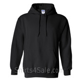 Black Heavy Blend Hooded Sweatshirt