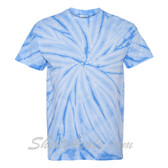 Columbia Blue Cyclone Pinwheel Short Sleeve T-Shirt