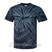 Black Cyclone Pinwheel Short Sleeve T-Shirt