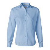 Carolina Blue Stain Resistant Women's Dress Shirt