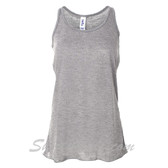 Bella B8800 Ladies Maxine Flowy Tank -(Light Grey)