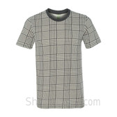 Hound Plaid Printed Eco Short Sleeve T-Shirt
