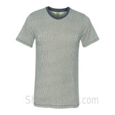 Thin Light Grey Printed Eco Short Sleeve T-Shirt