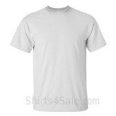 White Tall Size 100% cotton t-shirt