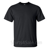 Black Tall Size 100% cotton t-shirt