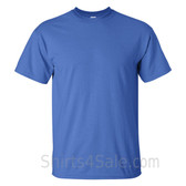 Blue Tall Size 100% cotton t-shirt